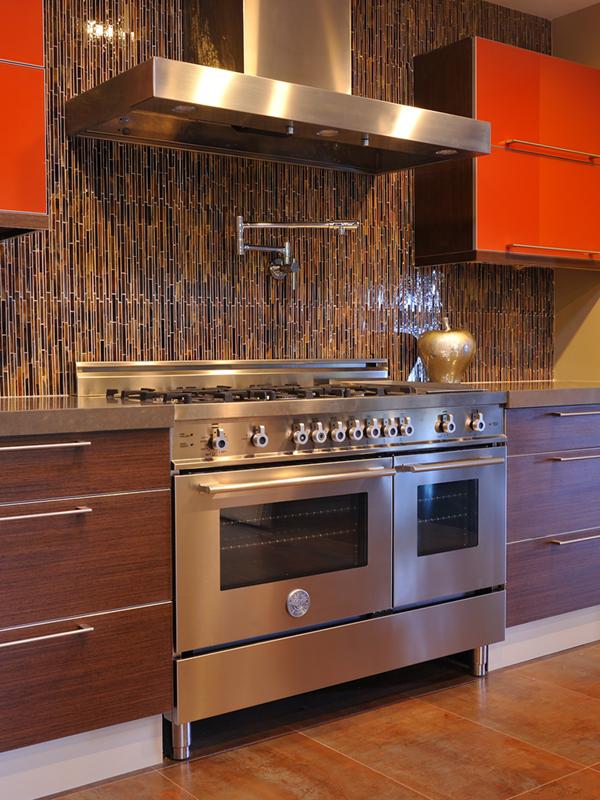 Mid Century Modern Oven ~ Mid range kitchens a century modern ikea kitchen for